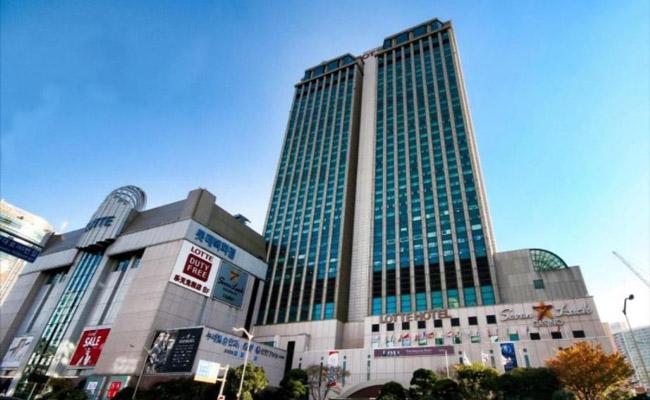 ロッテホテル釜山.